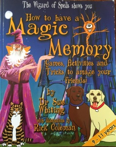 "Book Coaching: Sue Whiting ""How to have a Magic Memory"" published March 2015, London"